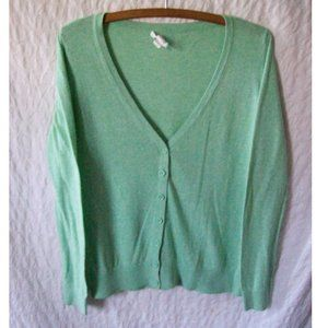 Forever 21 Mint Lightweight Cardigan - Size S